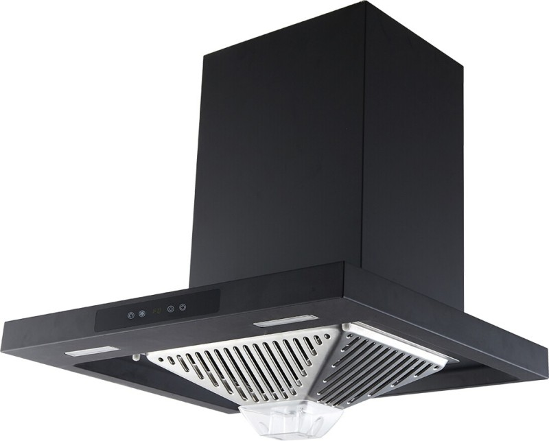 Kaff EDEN DHC-60 Auto Clean Wall Mounted Chimney(Black 1180 CMH)