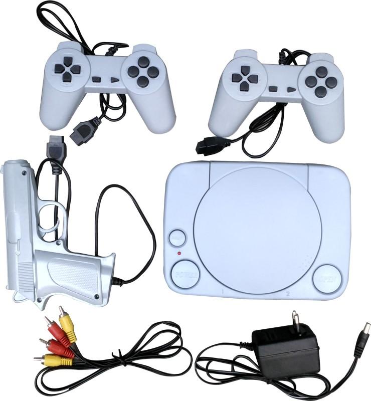 GROZA B246 8Bit TV Video Game 0.2 GB with Contra, Super Mario, Double Dragon 2, Duck Hunt, Gradius, F1 Race(Multicolor)