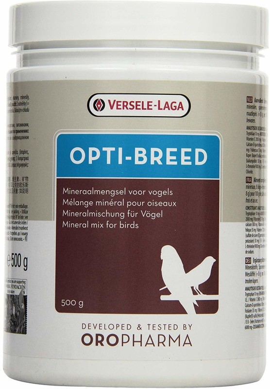 Versele-Laga OPTI-BREED Breeding Supplement 500G Pet Health Supplements(500 g)