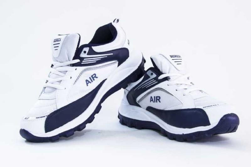 Beerock Oxygen Running Shoes For Men(White, Navy)