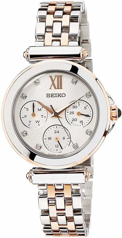 Seiko SKY700P1 multifuncation Smart Analog Watch - For Women