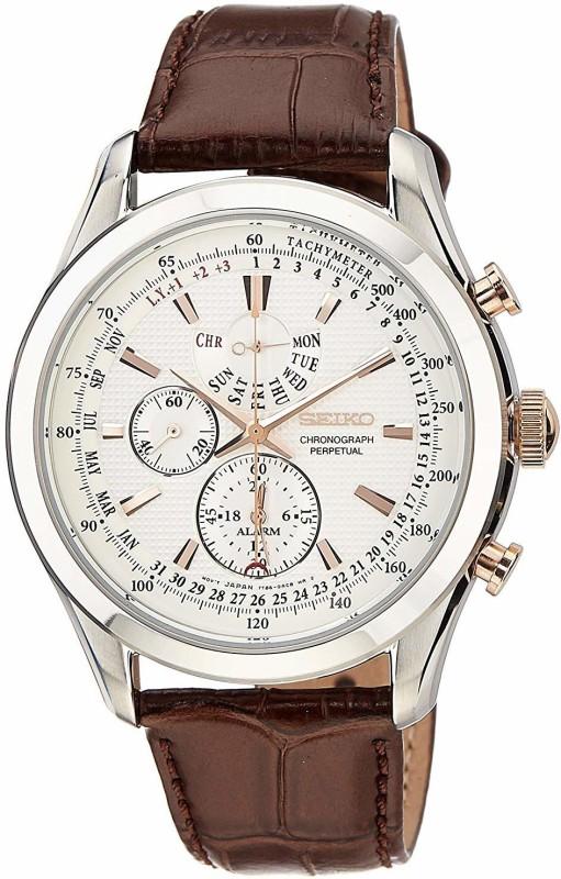Seiko SPC129P1 Chronograph Perpetual Watch - For Men