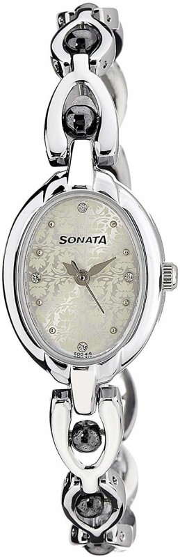 Sonata 8048SM04C Analog Watch - For Women