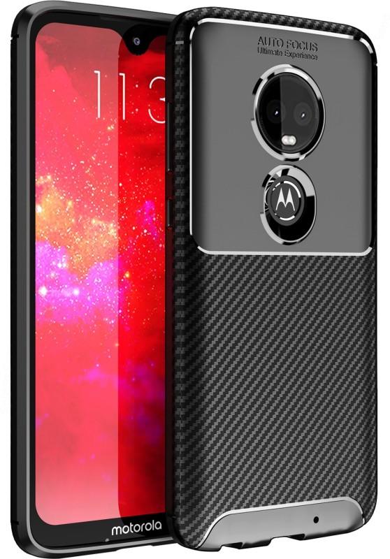 Golden Sand Back Cover for Motorola G7, Moto G7(Mirage Black, Shock Proof)