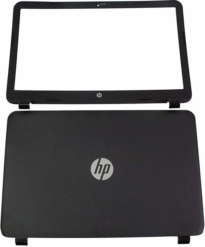 SellZone Front & Back Case for HP 15G 15 G080NR(Black)