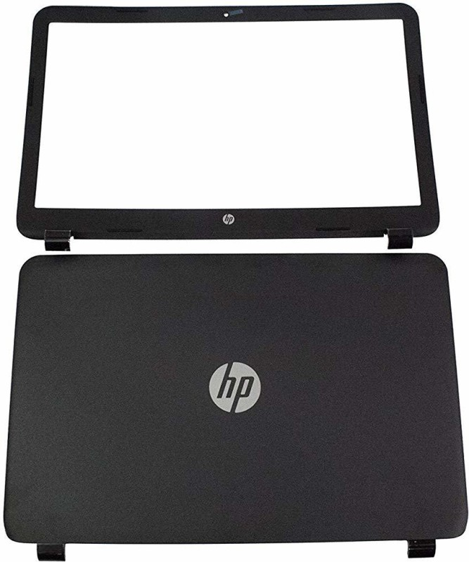 SellZone Front & Back Case for HP Pavilion 15 R030NR(Black)