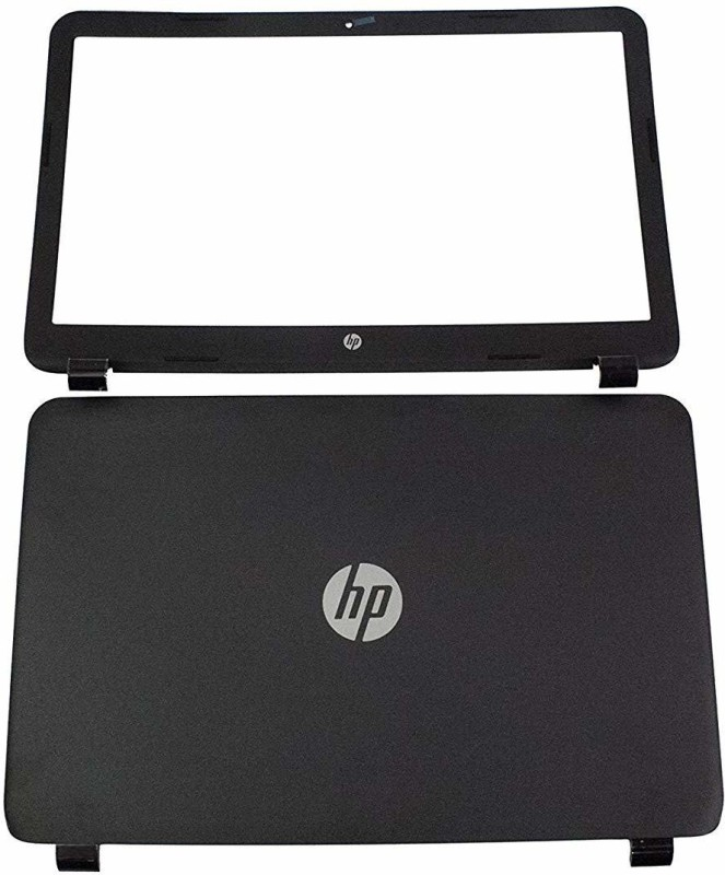 SellZone Front & Back Case for HP Pavilion 15 R104NX(Black)
