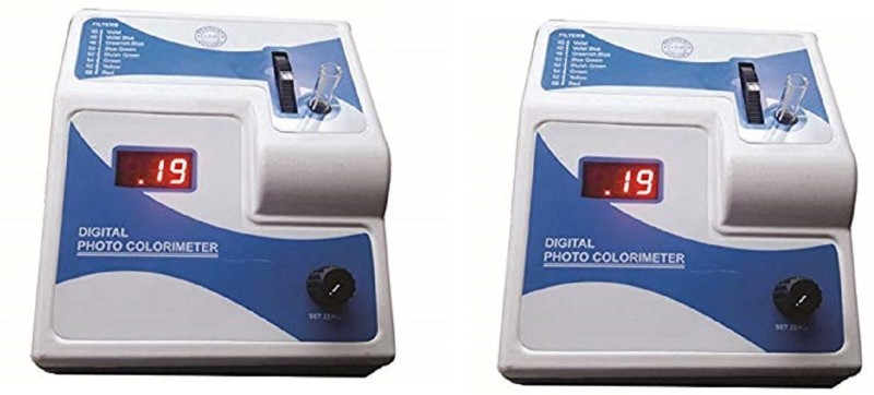 genist international Gi-121 pack of 2 Digital Colorimeter(400 â?? 700 nm)