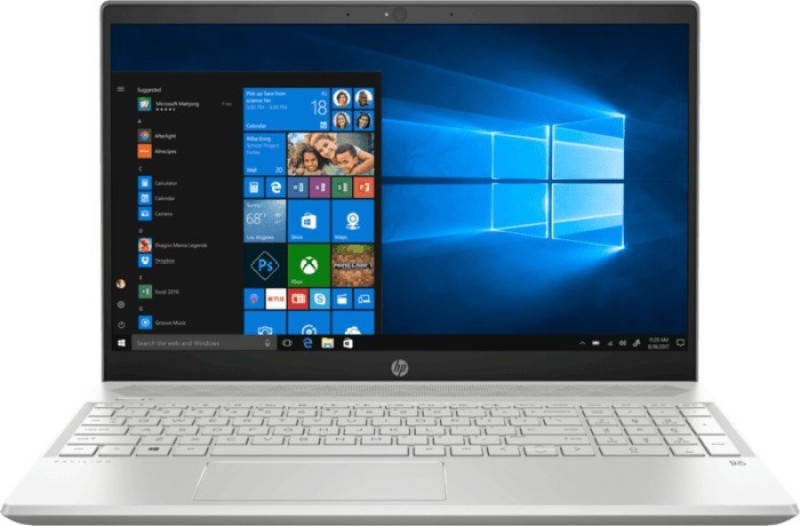HP Pavilion Core i7 7th Gen - (8 GB/2 TB HDD/Windows 10 Home/4 GB Graphics) 15-CS1052TX Thin and Light Laptop(15.6 inch, Mineral Silver, With MS Office)