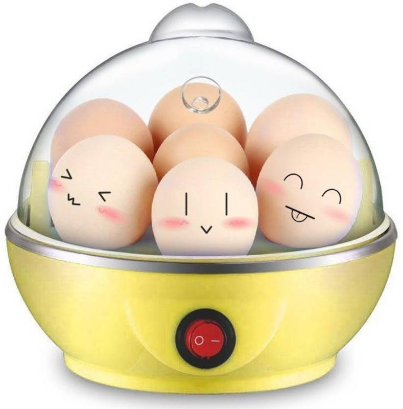 KETSAAL ELECTRIC-EGG-BOILER-YELLOW Egg Cooker(7 Eggs)