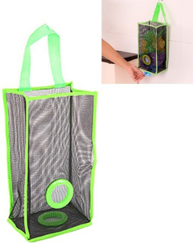 Futaba Kitchen Garbage/Shopping Bag Organiser - Green Medium 10 L Garbage Bag