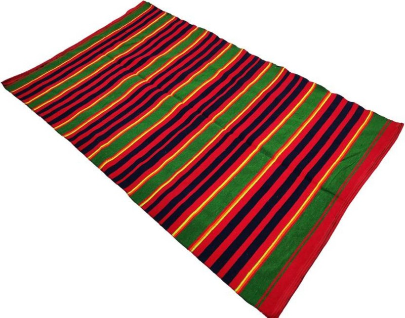 Lovely Arts Collection Cotton Chatai Mat(Multicolor, Extra Large)