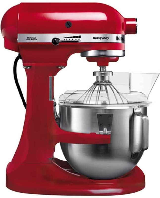KitchenAid 5KPM5BER 5 QT BOWL LIFT SM EMPIRE RED (B) Stand Mixer - Bowl Lift-Stand Mixer 240 Juicer Mixer Grinder(Empire Red, 1 Jar)