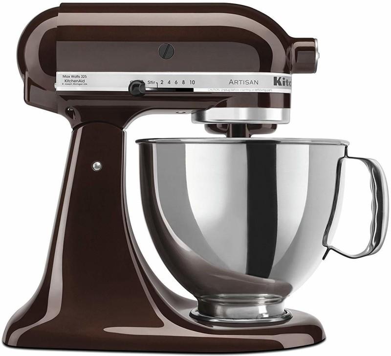 KitchenAid 5KSM150PSBES ESPRESSO -Tilt Head-Stand Mixer 240 Juicer Mixer Grinder(Espresso, 1 Jar)