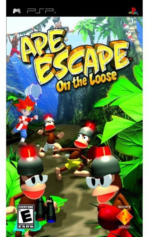 PSP APE ESCAPE ON THE LOOSE(PARTY GAME, for PSP)