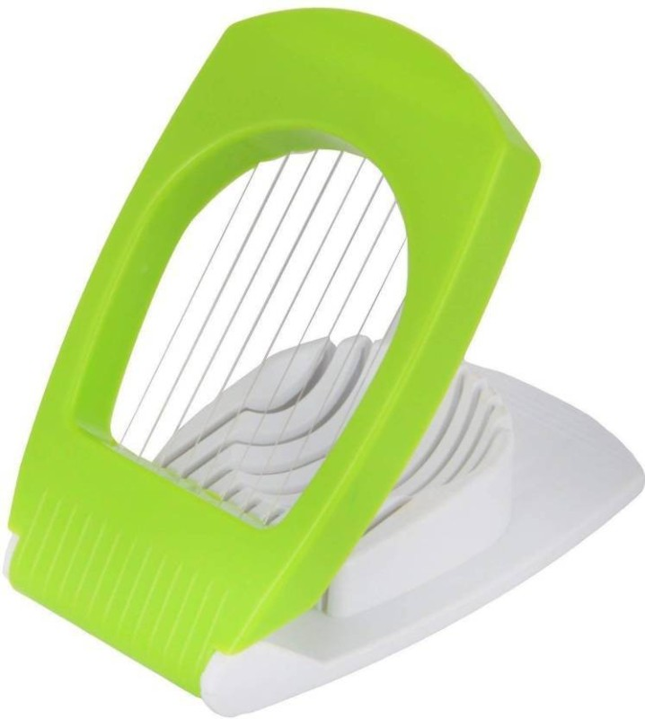 friday clientage cutter Plastic Egg Separator(Green, White, Pack of 1)