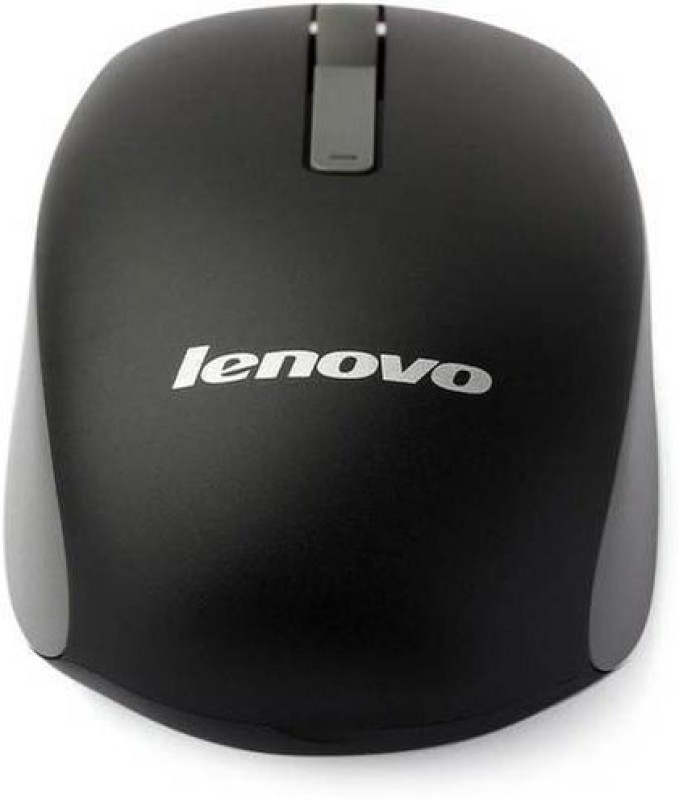 Lenovo N100 Wireless Mouse (Black) Wireless Optical Mouse(2.4GHz Wireless, Black)