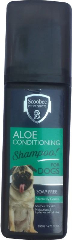 Scoobee Dog Liquid form Anti-dandruff, Flea and Tick, Whitening and Color Enhancing, Anti-microbial, Anti-itching Pleasent Dog Shampoo(200 ml)