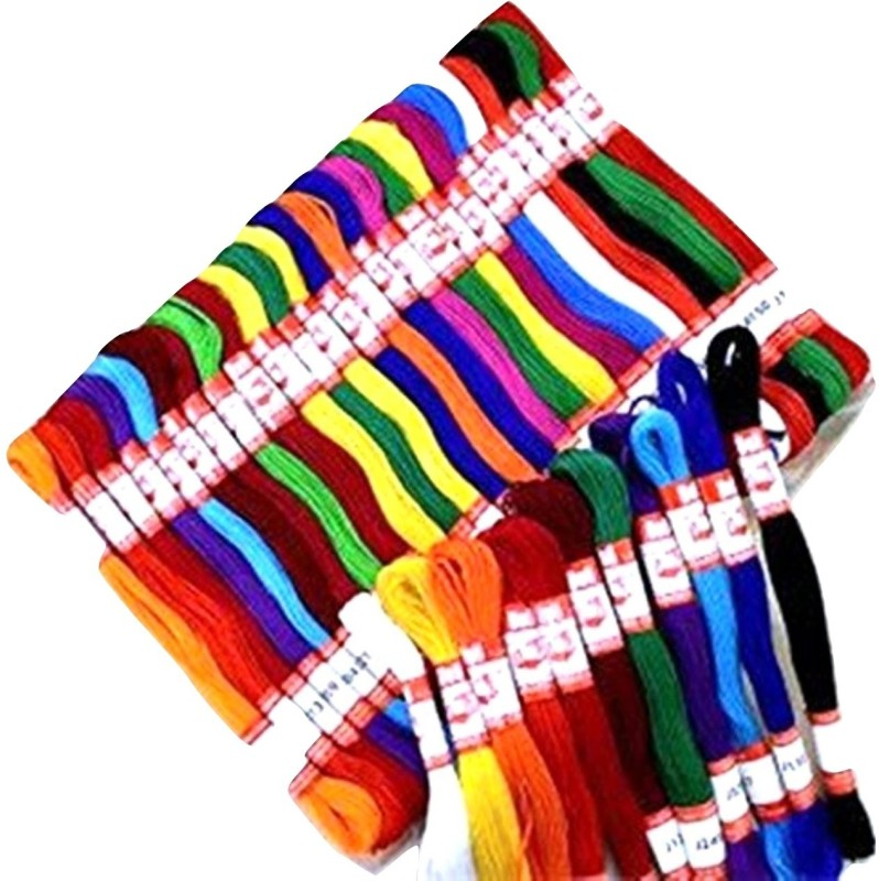 Lovely Arts Collection Multi - color Thread(10 m Pack of50)
