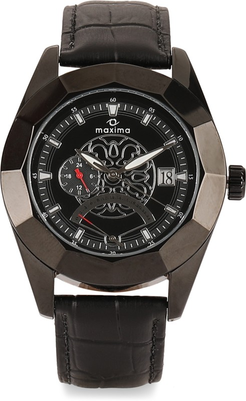 Maxima 30390LMGB Shantanu and Nikhil Analog Watch - For Men