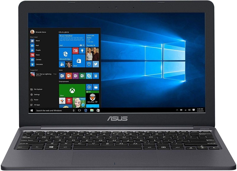 Asus Vivobook Celeron Dual Core 8th Gen - (2 GB/500 GB HDD/Windows 10 Home) E203MAH-FD004T Thin and Light Laptop(11.6 inch, Grey)