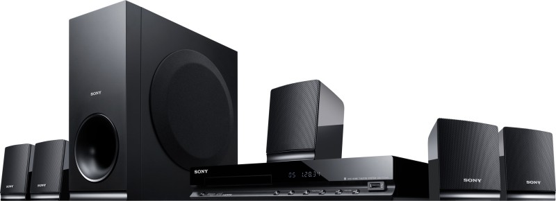 Sony DAV-TZ145 5.1 2 Front Speakers, 2 Surround Speakers, 1 Centre Speaker, 1 Subwoofer(DVD)