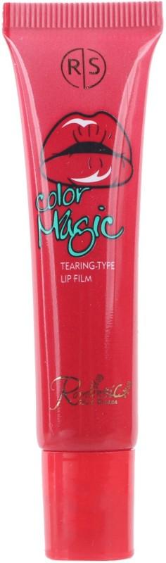 RS Colour Magic Red Peel off Type Kiss Proof Lip Stick Tear off Type Lip Tint Tattoo Lip Stain(16 g)