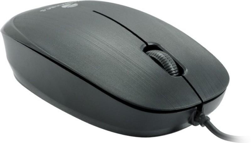 Zebronics ZEB - Power Wired Optical Mouse(USB 2.0, Black)