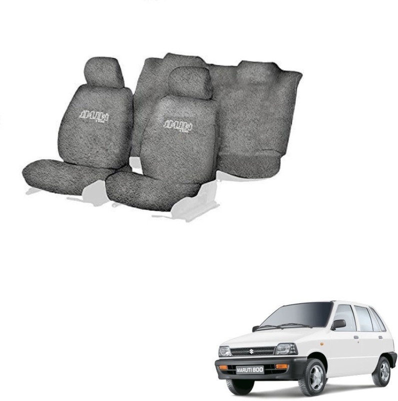 JMJW & SONS Cotton Car Seat Cover For Maruti 800(5 Seater)