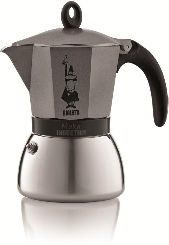 Coffeeworkz MOKA INDUCTION 6 Cups Coffee Maker(Anthrecite)