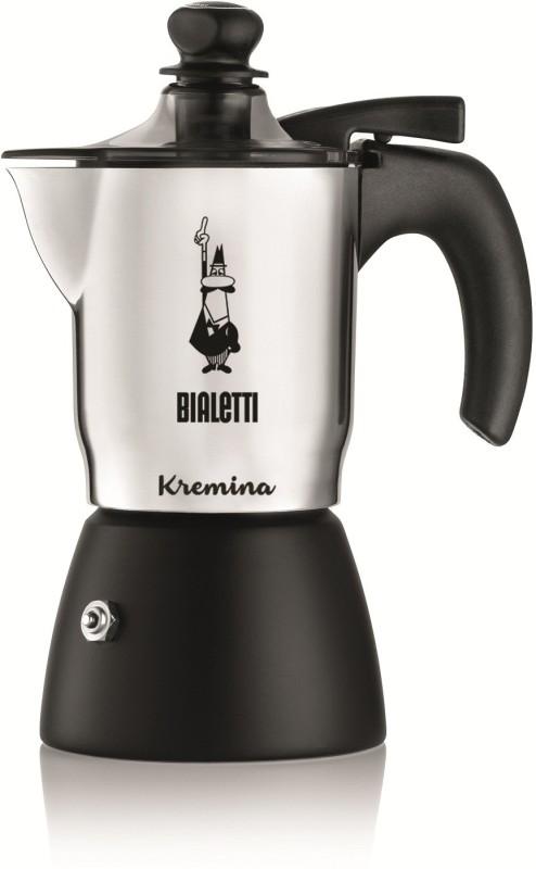 Coffeeworkz KREMINA 3 Cups Coffee Maker(Aluminum)