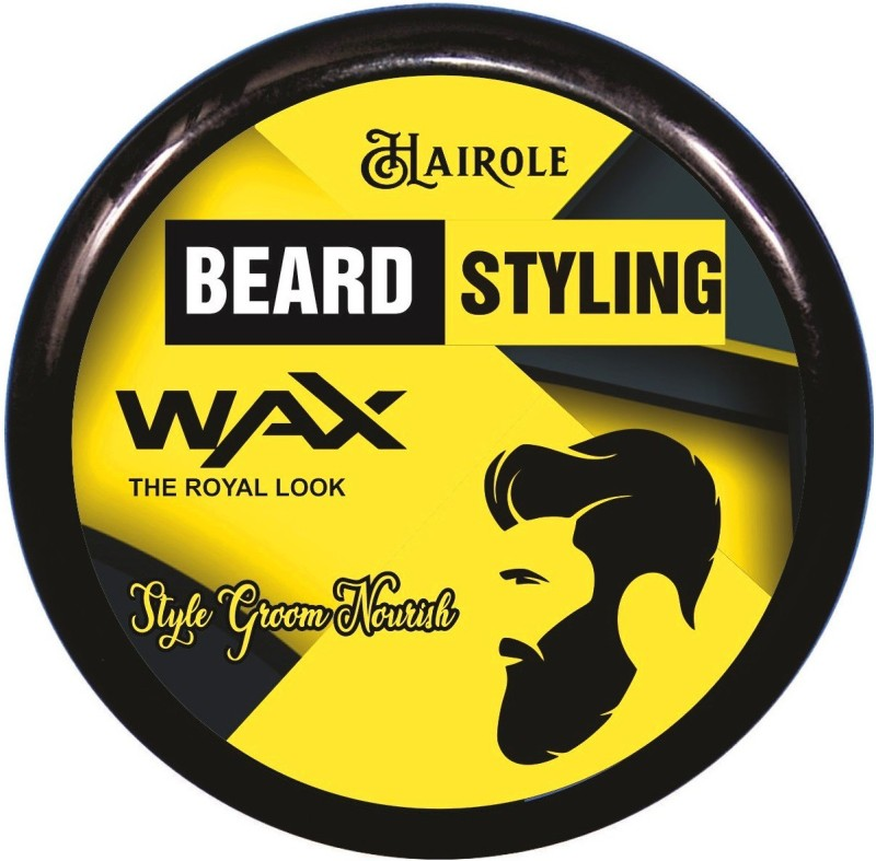 Hairole Beard Styling Wax Hair Wax(80 g)