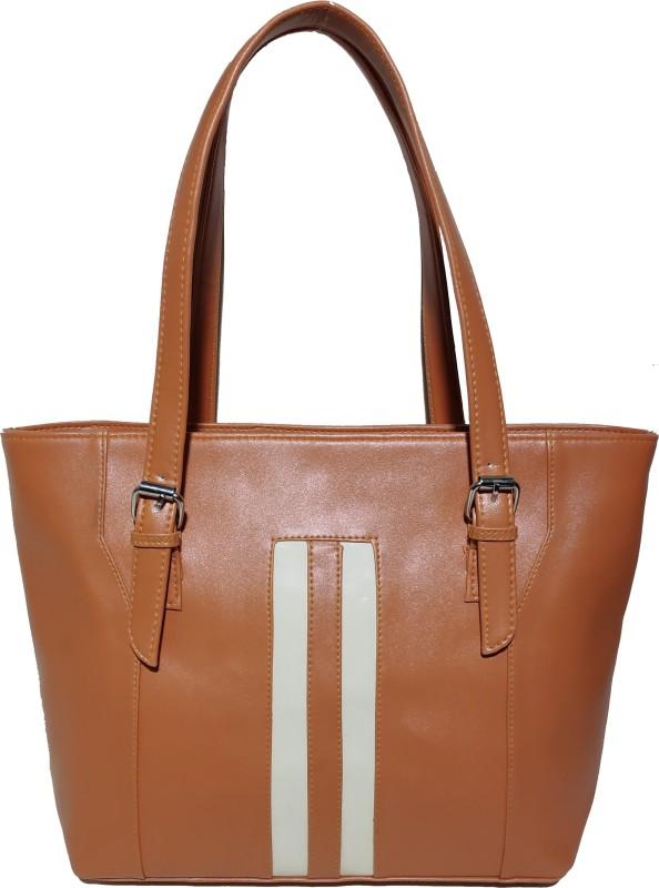 AZED Collections Women Tan Shoulder Bag