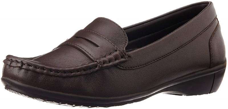 Hush Puppies Epc Loafers For Women(Brown)