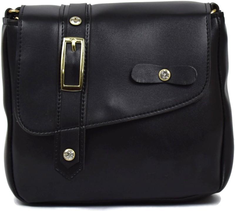 Ferishta Black Sling Bag