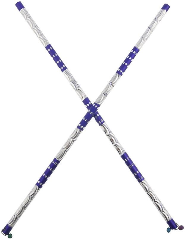 GOHEL DANDIYAA vartical dandiya Dandia Sticks(Blue)