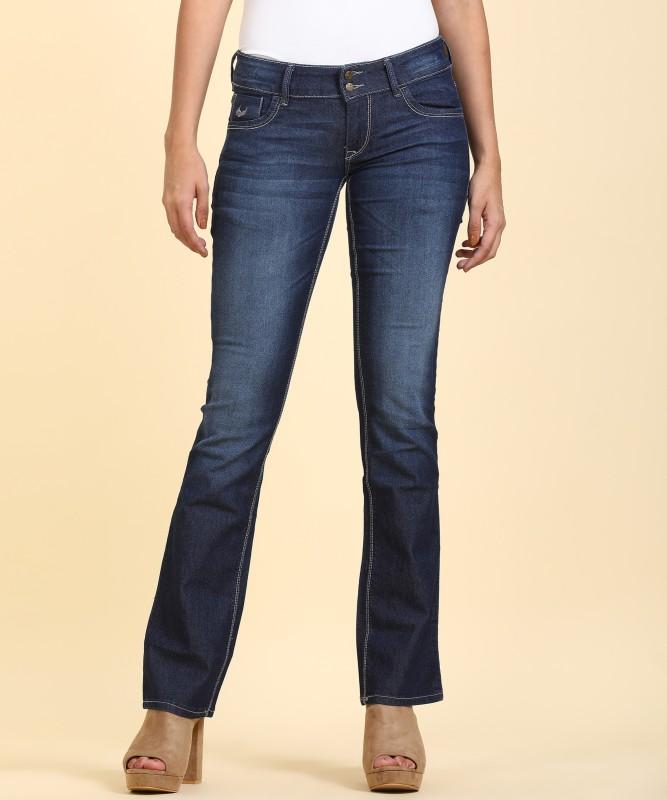 Flying Machine Slim Women Blue Jeans