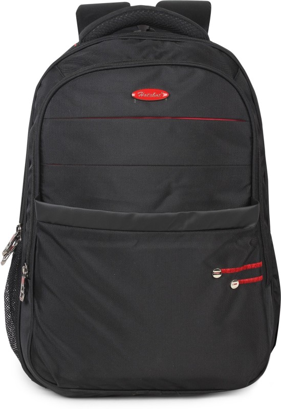 Hot Shot Polyester School, Collage and Casual 30 L Backpack(Black)