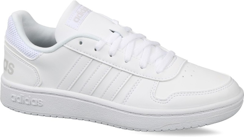 ADIDAS HOOPS 2.0 Sneakers For Women(White)