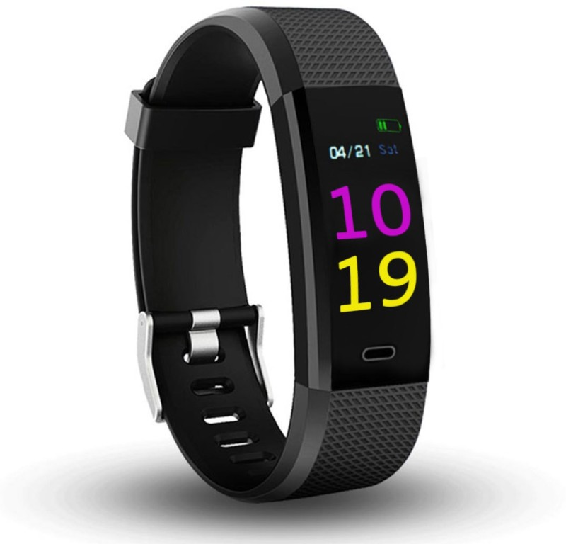 Bingo F0s Activity Tracker fitness band(Black Strap, Size : Free)