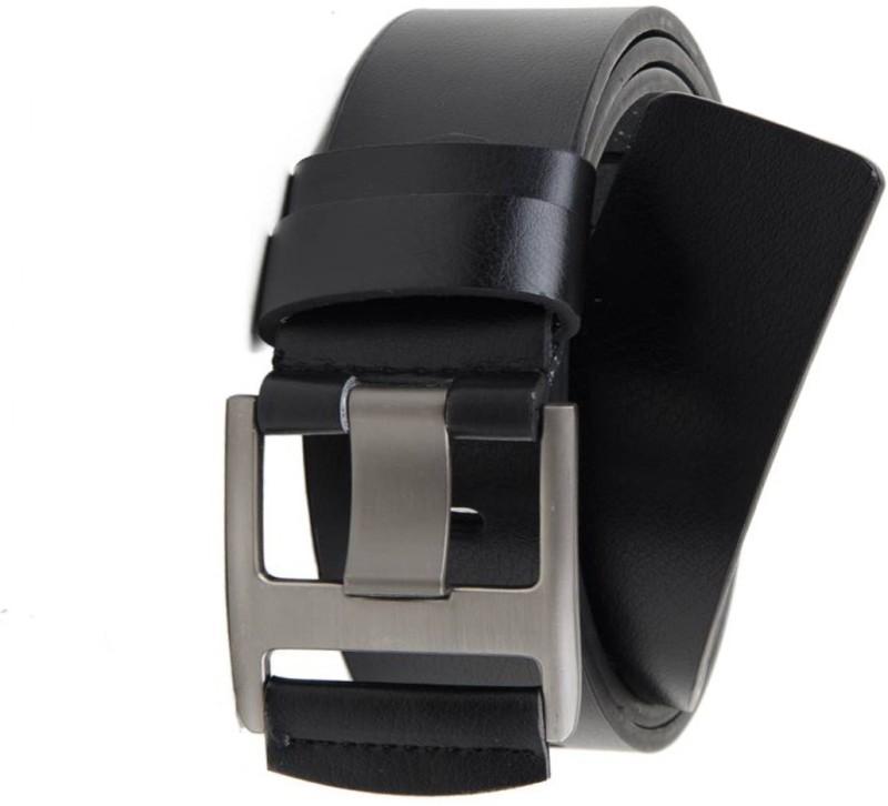 Variety & Capture Men Casual Black Artificial Leather Belt