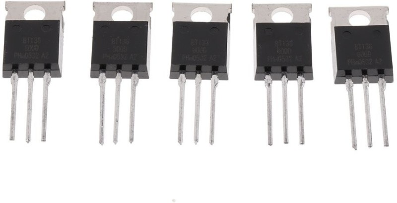 Zigshash BT136 600V TRANSISTOR FET Transistor(Number of Transistors 5)