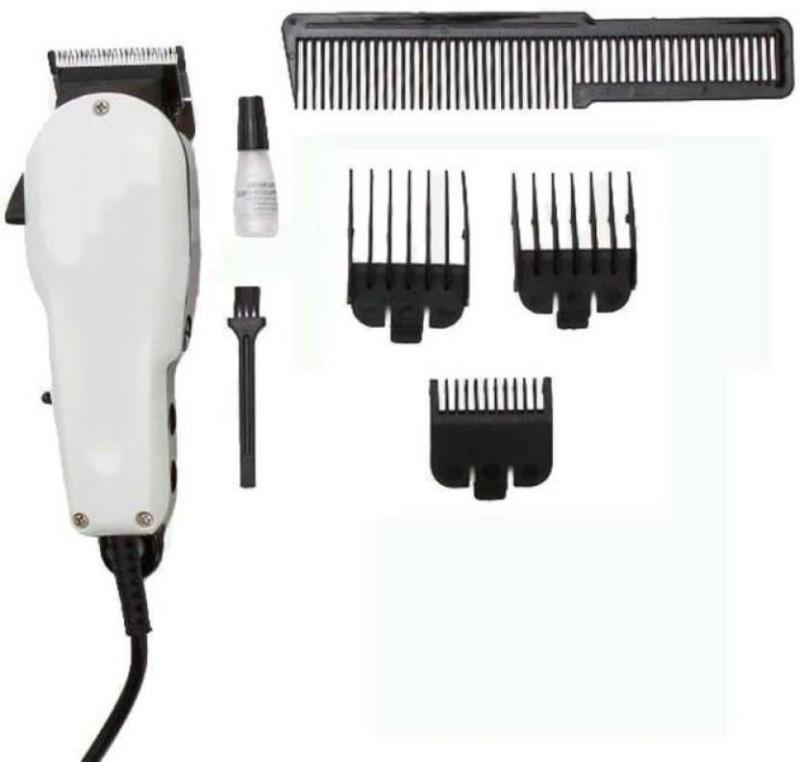 care 4 Heavy beauty Corded Trimmer Shaving for Men (White) Runtime: 0 min Trimmer for Men(White)