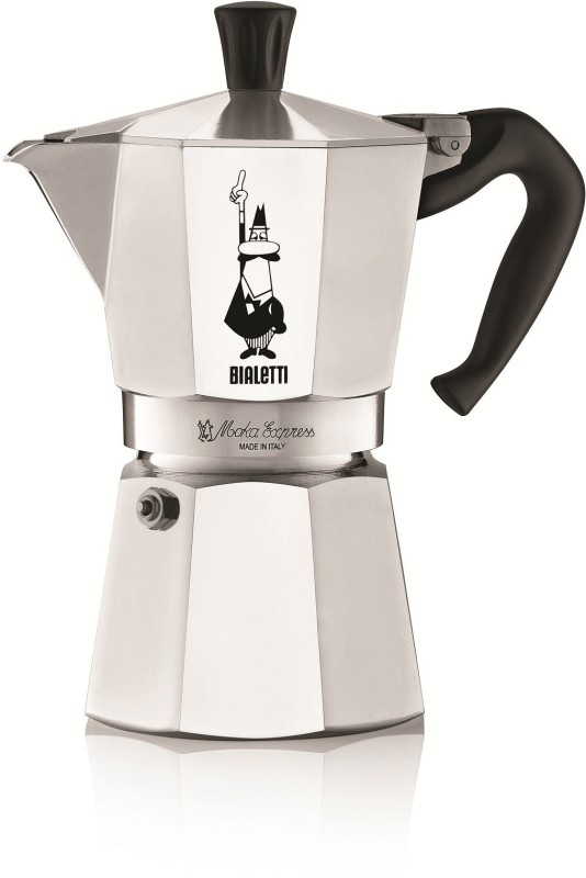 Bialetti MOKA EXPRESS 18 Cups Coffee Maker(Aluminium)