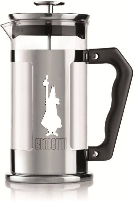 Bialetti COFFEE PRESS PREZIOSA 8 Cups Coffee Maker(Silver)