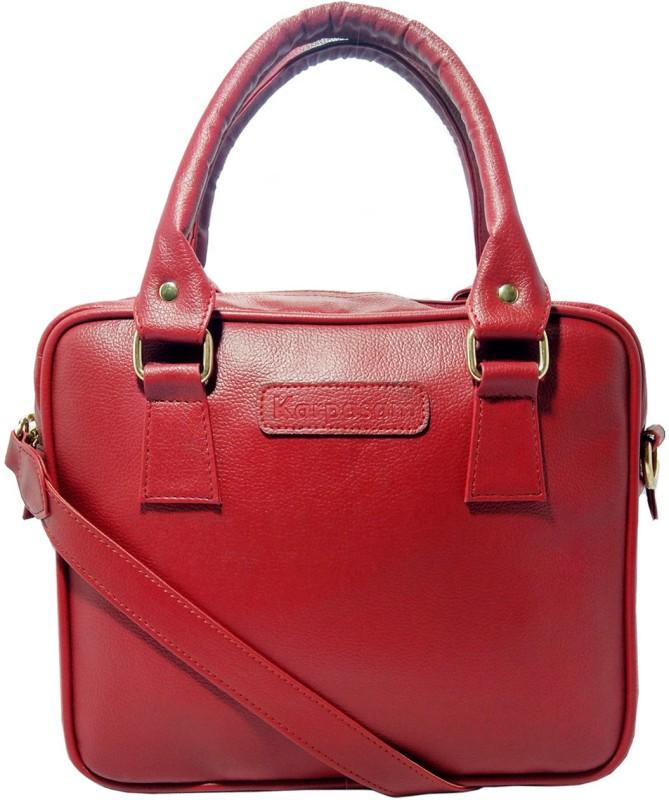 Karpasam Women Red Shoulder Bag