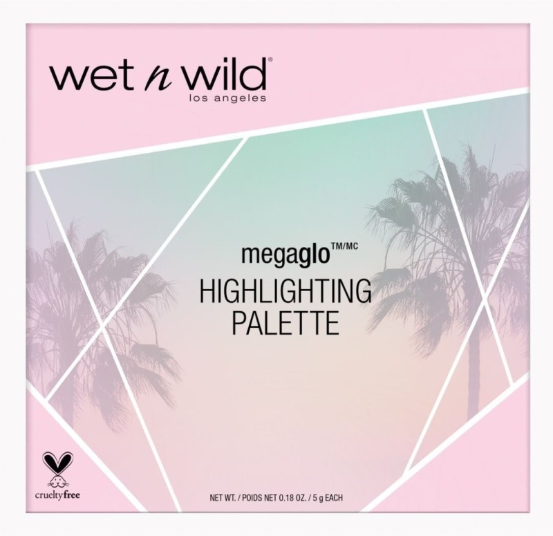 Wet n Wild Highlighting Palette Highlighter(multicolor)