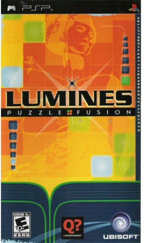 PSP Lumines Puzzle Fusion (platinum edition)(puzzle game, for PSP)