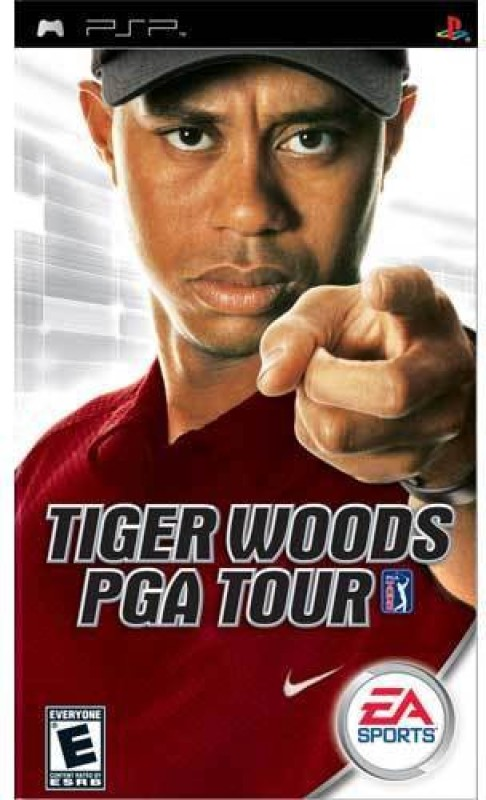 PSP Tiger Woods Pga Tour(sports game, for PSP)