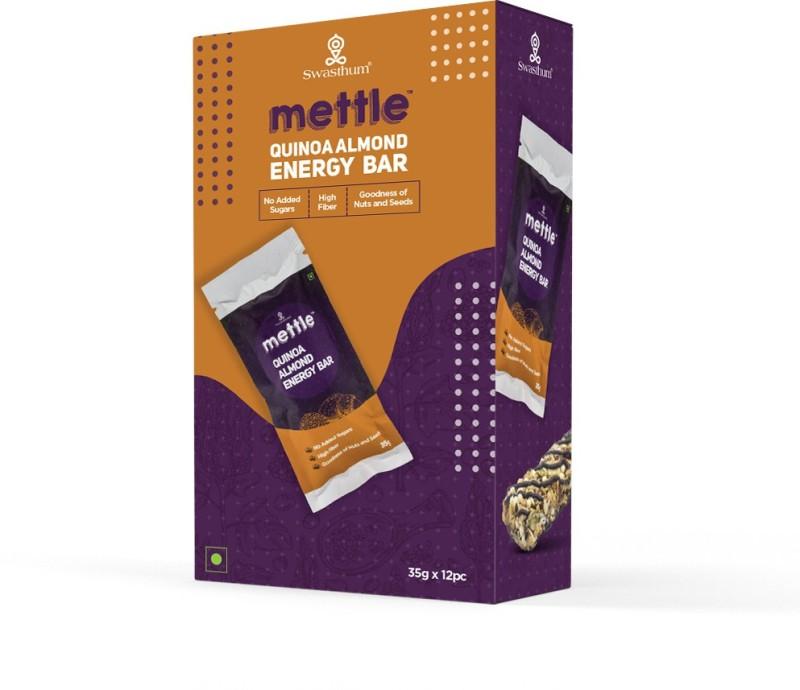 Mettle Quinoa Almond Energy Bars(420 g, Quinoa Almond)